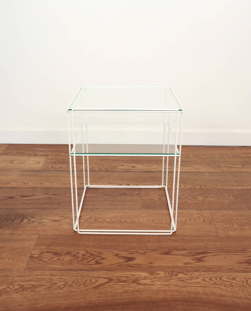 'isocele' side table by Max Sauze