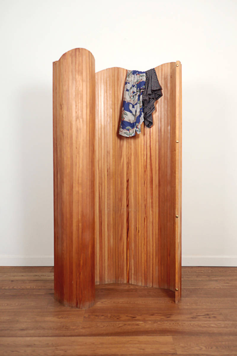 Room divider / paravent in wood