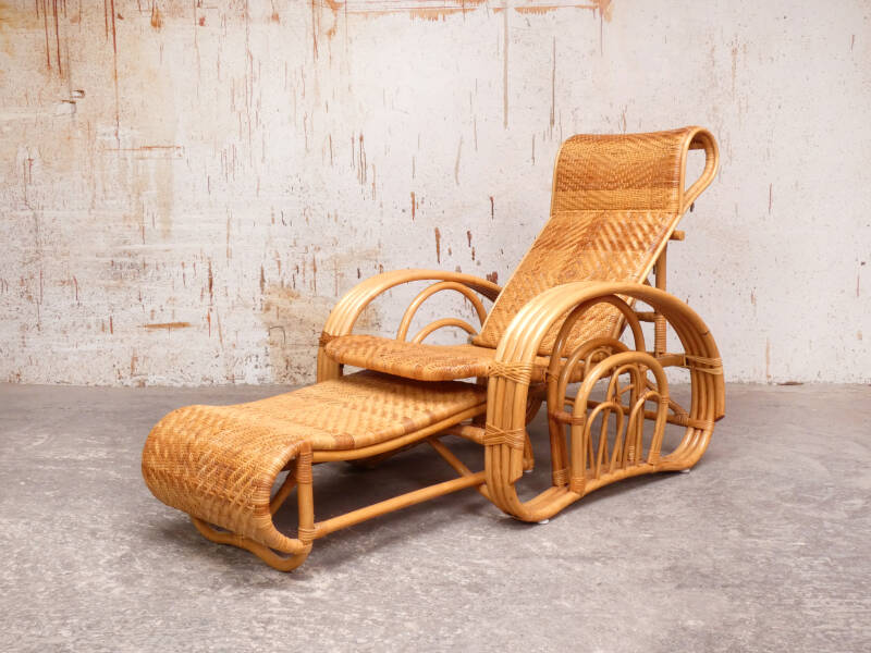 Rotan easy lounge chair