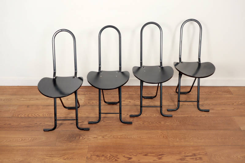 4 Dafne folding chairs by Gastone Rinaldi