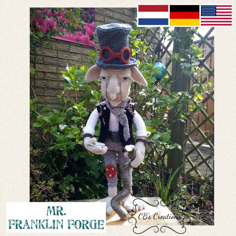 Mr. Franklin Forge, Steampunk Elf, PDF