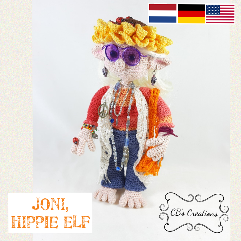 Joni de Hippie Elf - Joni the Hippie Elf, PDF