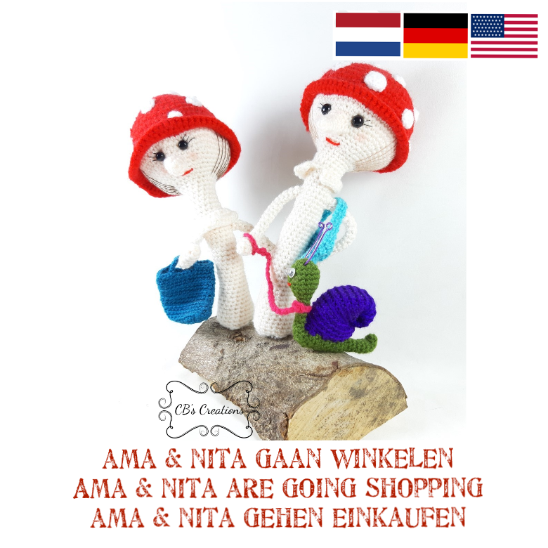 Ama en Nita gaan winkelen - Ama and Nita are going shopping, PDF