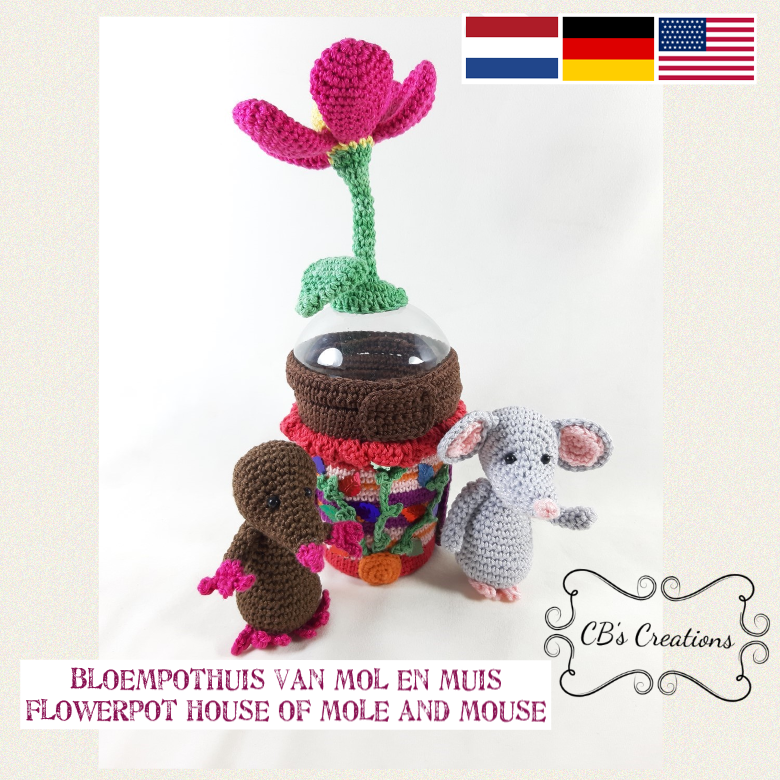 Bloempothuis van Mol en Muis - Flowerpot House of Mole and Mouse, PDF