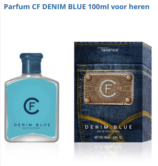 Parfum MAN/HOMME CF DENIM BLUE 100ml