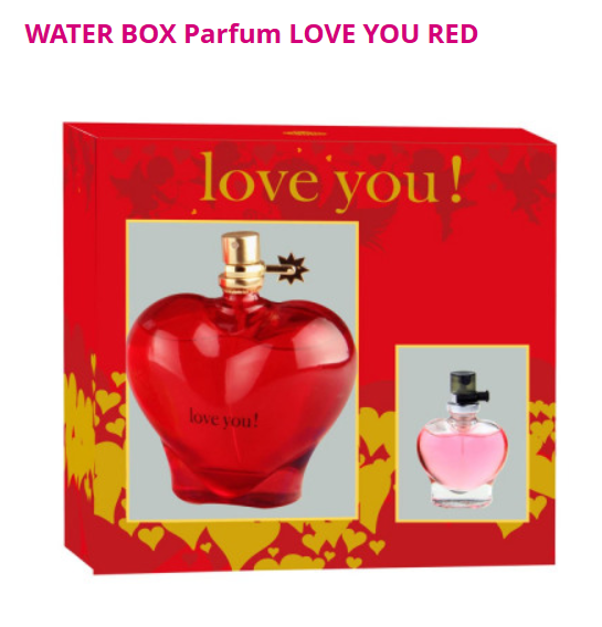 Box parfum LOVE YOU DAMES/FEMMES 100ml + 15ml
