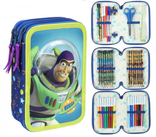 Toy Story Buzz Lightyear Pochette gevuld / remplis 43 delig / 43 pieces  -10%!!!!