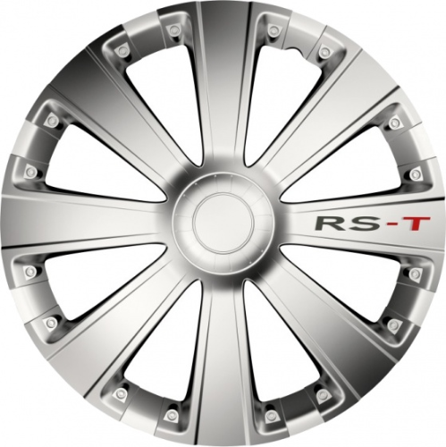 Carpoint wieldoppen RS-T 16 inch ABS set van 4