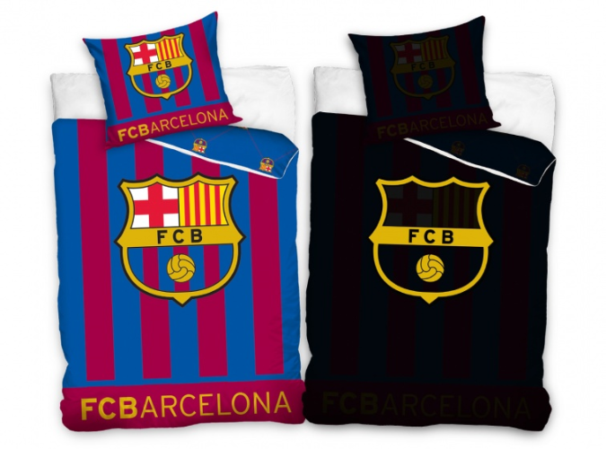 Carbotex FC Barcalona dekbedovertrek / housse de couette glow in the dark 140 x 200 cm