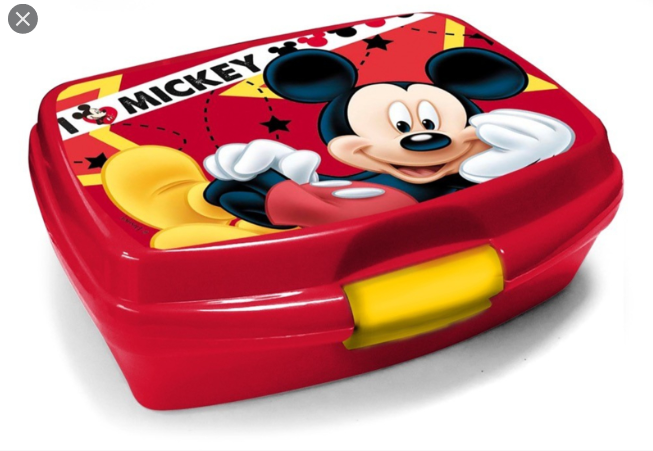 Lunchbox / Boite a tartines Mickey Mouse