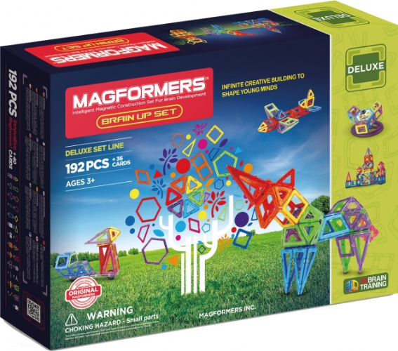 Magformers Brain Up set 192-delig / pieces