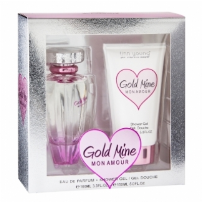 "EDP 100ml + Showergel ""Gold Mine Mon Amour"""