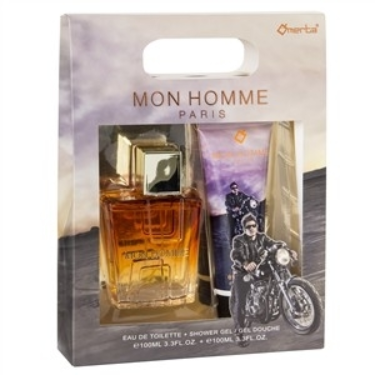 "EDT 100ml + Showergel ""Monne Homme''"