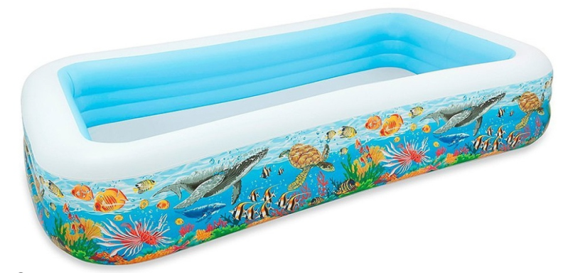 Intex opblaaszwembad Tropical 305 x 183 x 56 cm / Piscine gonflable Intex Tropical 305 x 183 x 56 cm