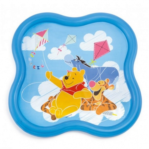 Intex opblaaszwembad Winnie the Pooh sproeier 140 cm blauw / Piscine gonflable Intex arroseur Winnie l'Ourson 140 cm bleu