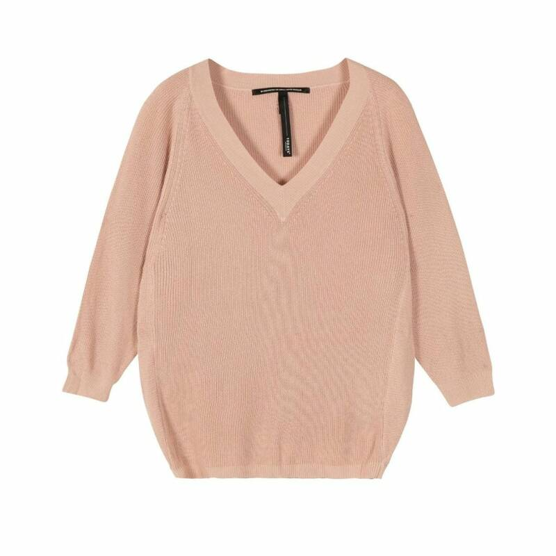10days thin sweater dirty pink restocked
