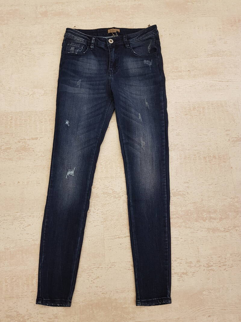 P95 Jeans destroyed blue