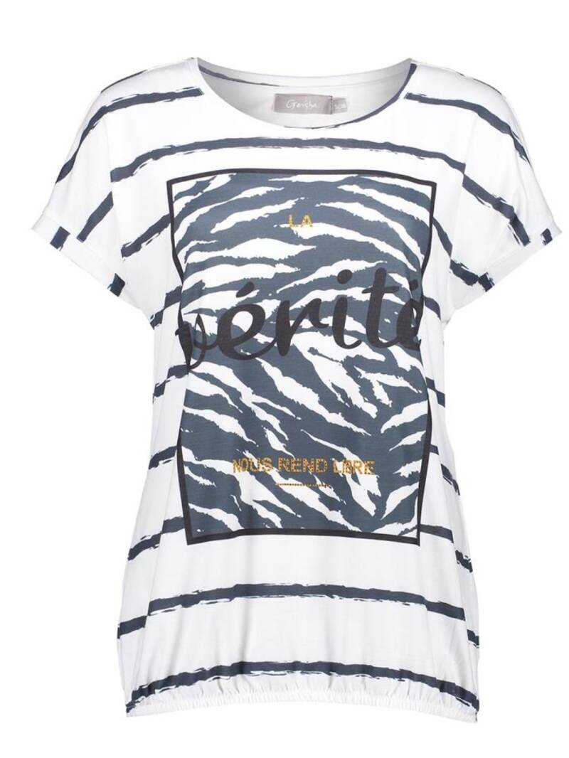 geisha tee shirt off white 12039