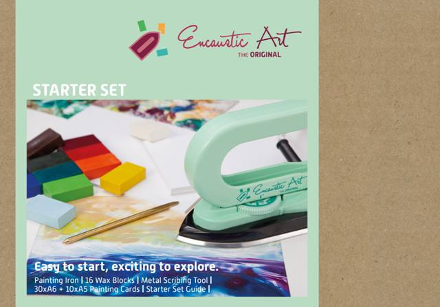 Enaustic Art beginners set 1501