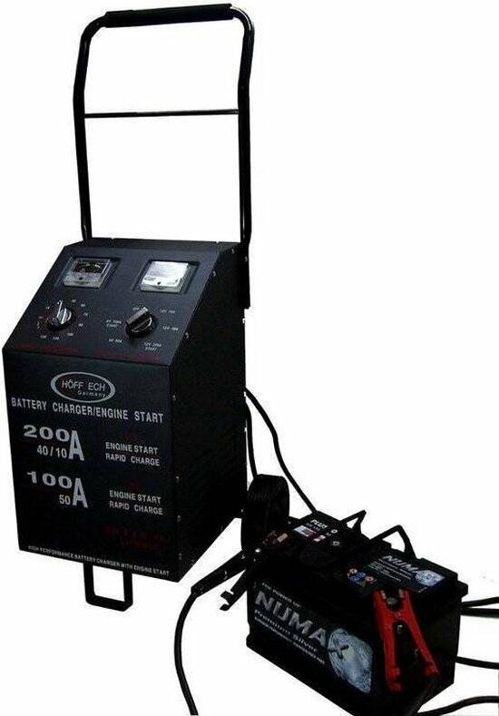 Powerbooster | Booster | Powerbooster | Acculader + Jumpstarter 200 Amp