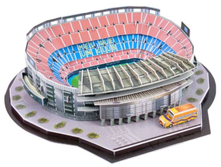 GROOTHANDEL 3D driedimensionale Puzzel Camp Now FC Barcelona