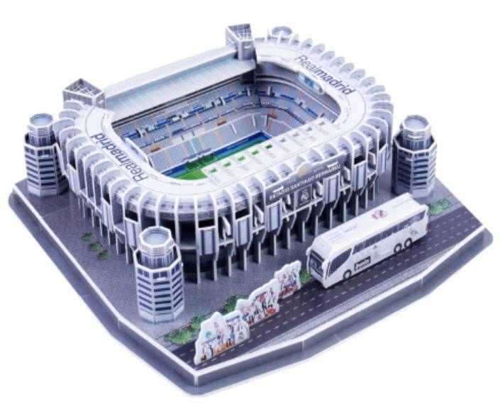 3D puzzel real madrid stadion