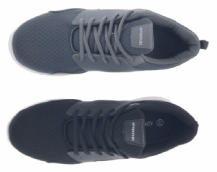 Heren Sneakers Antraciet