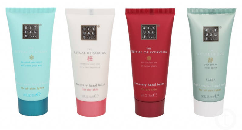 Rituals set The Ultimate Handcare Collection 20 mL 4-delig