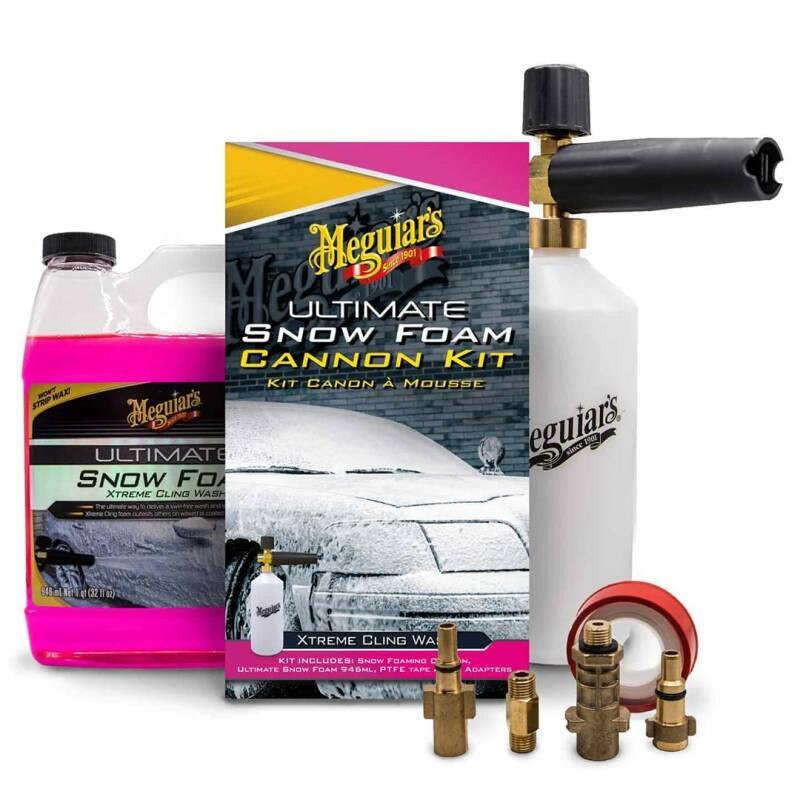 Meguiars ultimate snowfoam kit