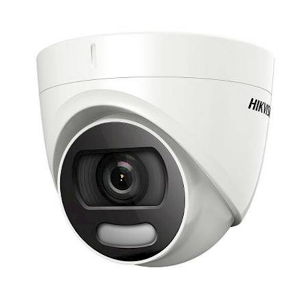 2MP ColorVu Dome, 3.6mm, 20m IR, DS-2CE72DFT-F 3.6MM