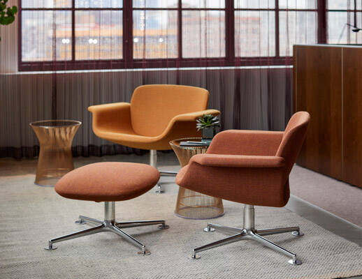KN Swivel lounge chair | KNOLL