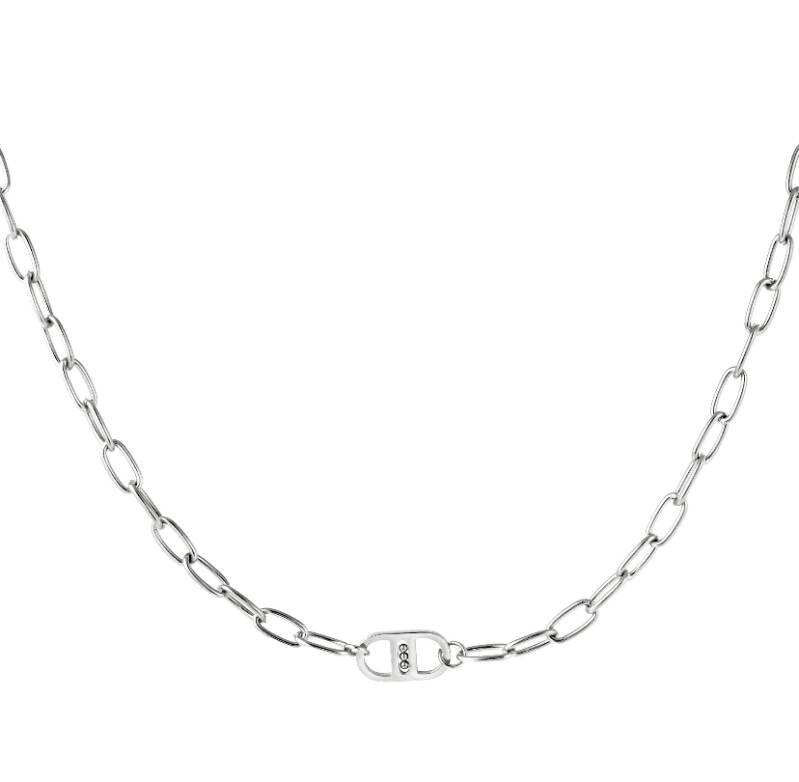 Ketting good luck silver
