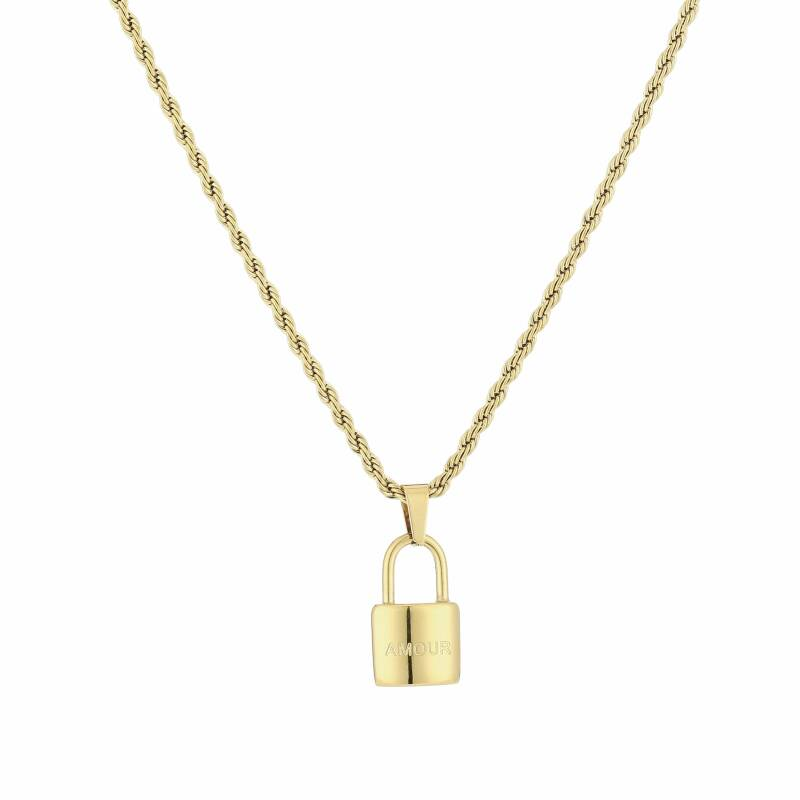 Ketting lock amour gold