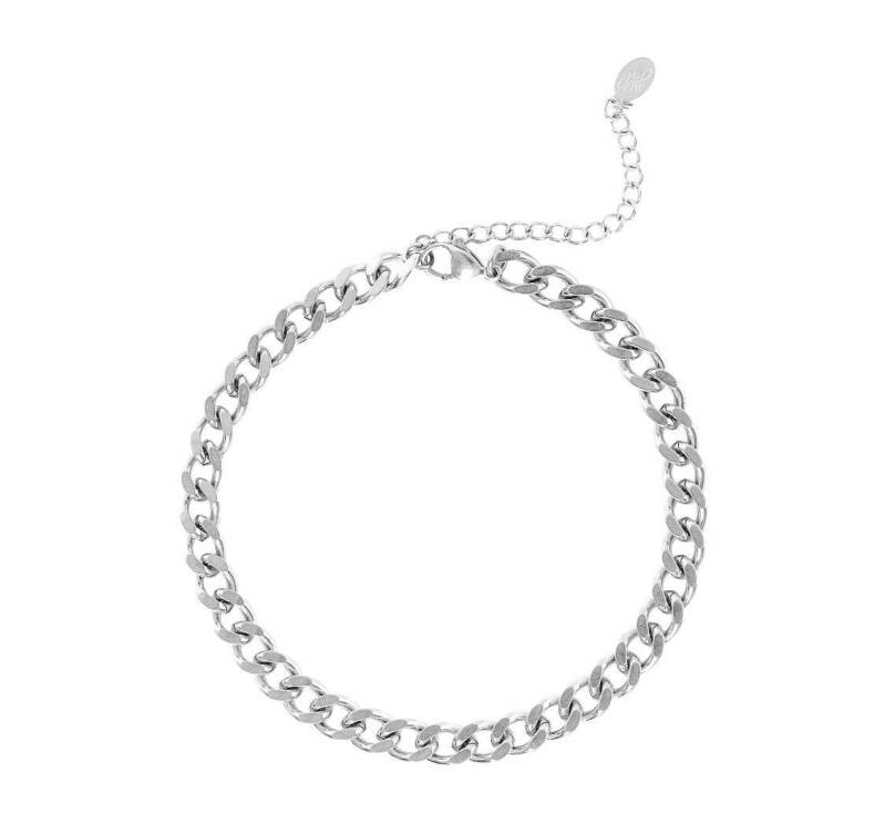 Armband bold chain zilver