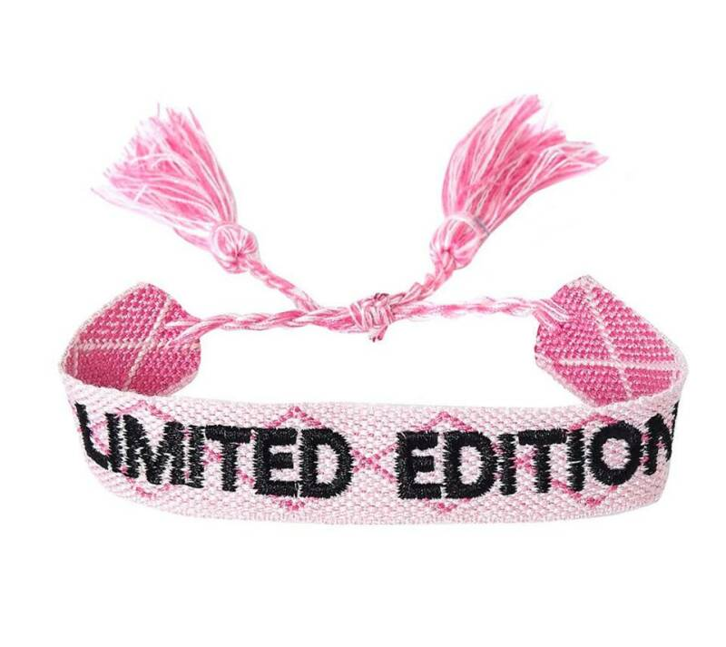 Armband limited edition roze