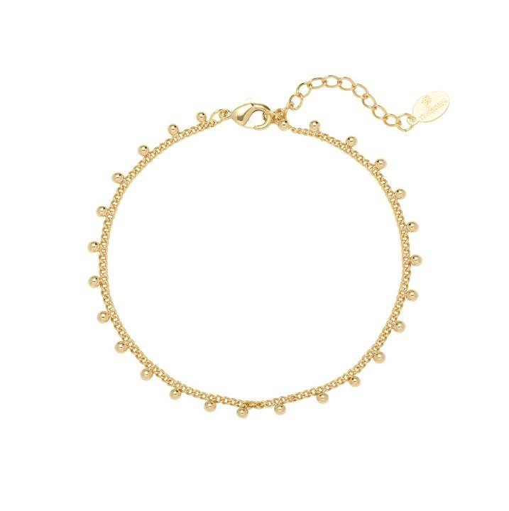 Armband tiny love goud