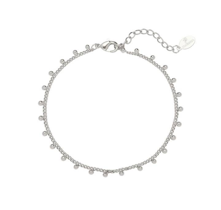 Armband tiny love zilver