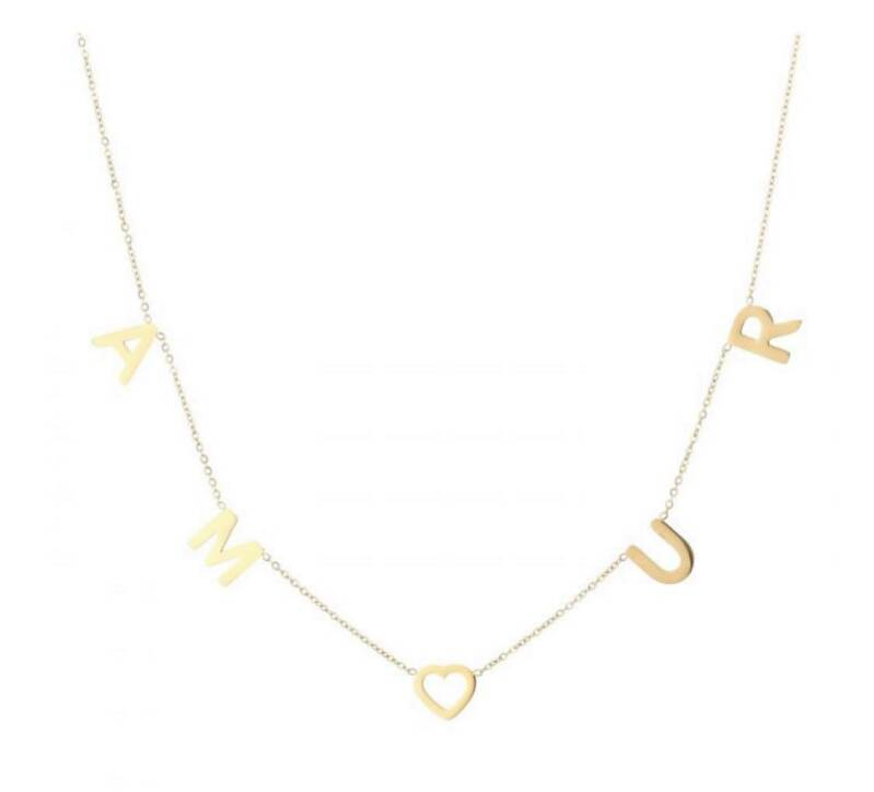 Ketting amour goud
