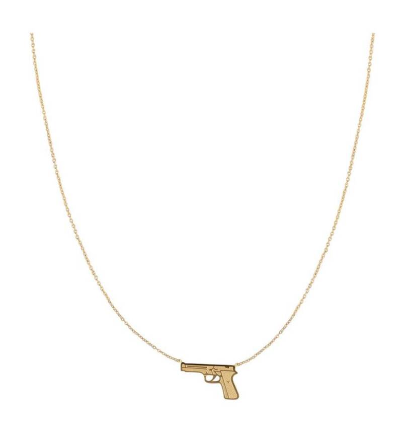 Ketting dress to kill goud