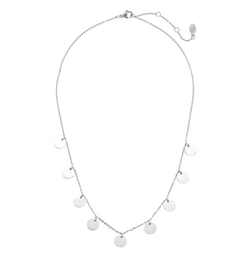 Ketting only circles zilver