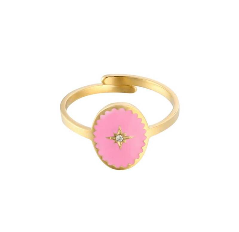 Ring milord roze