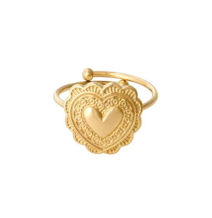 Ring true love goud