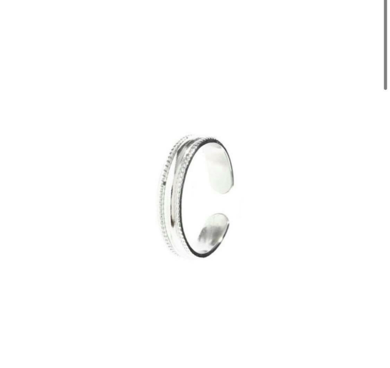 Ring chique zilver