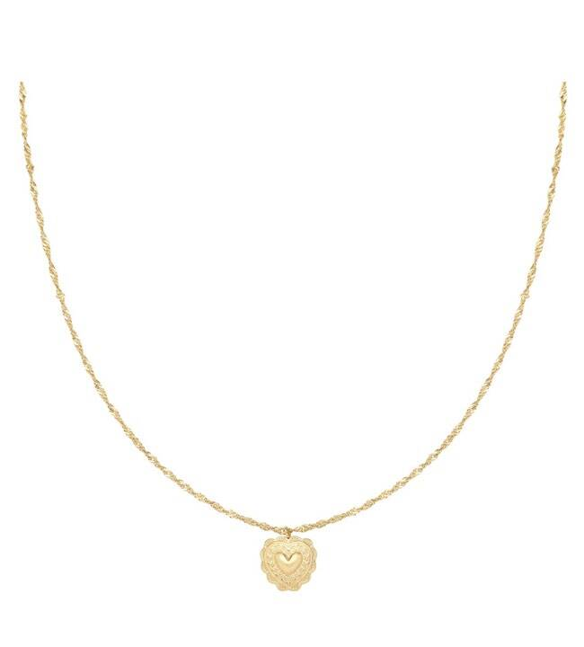 Ketting true love goud