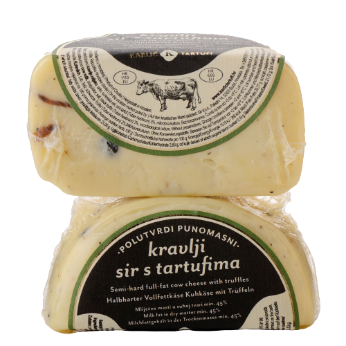 KARLIC - Cow cheese with truffles ca 200 gr