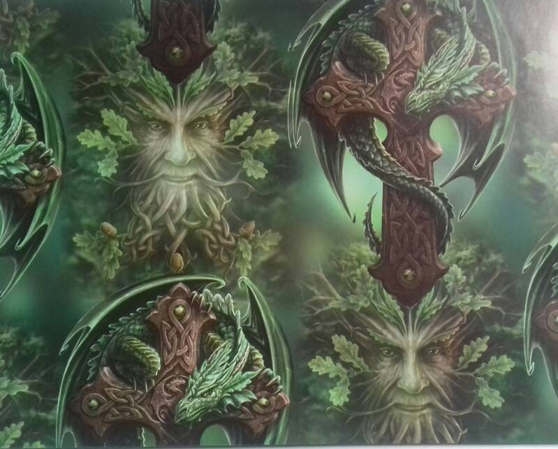 Wrapping Paper, Woodland Guardian