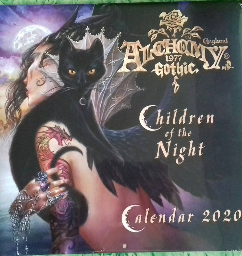 Alchemy Gothic 'Children of the Night' 2020 Wall Calendar