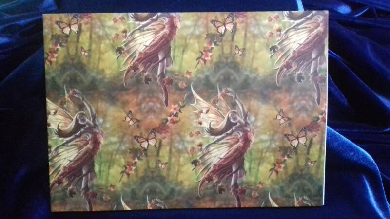 Wrapping Paper, Autumn Fairy