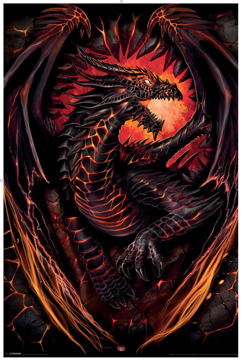 DRAGON FURNACE - Poster
