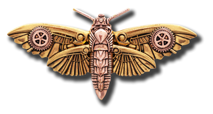 Magradore's Moth Broche